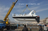 7.5mのガラス繊維の堅く膨脹可能なボートの漁船の肋骨のボート