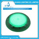 Lumière sous-marine remplie par résine imperméable à l'eau de piscine d'IP68 12volt DEL