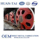 Pièces de piste de Railraod d'acier inoxydable d'OEM en aluminium