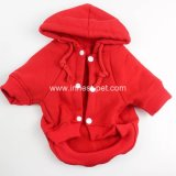 Le crabot mou de coton d'animal familier de couleurs multi rouges de poste Outwear