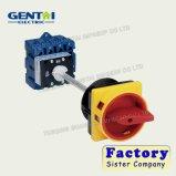 Mudar 20A 25A 110um interruptor rotativo com certificados CE