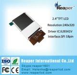 El módulo 2.4inch 240*320 de TFT LCD con el regulador Ili9341V solicita dispositivo portable