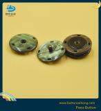 Покрытие нажмите латунные пуговицы с для швейной промышленности, для одежды женщины