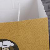 157g C2s Papierbeutel-, zwei Seiten-überzogener Papierbeutel-, weißer und Schwarzerpapierbeutel