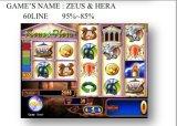 Zeus & Hera-60 선  슬롯 게임 기계 동전에 의하여 운영하는 게임 기계 노름 기계
