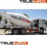 대표적인 구체적인 트럭 믹서 및 상부