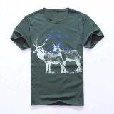 100% хлопок печать футболок
