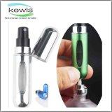 Botella de perfume de cristal de la dimensión de una variable del tubo para el toner del cuidado de piel