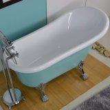 Bañera clásica de acrílico real de Freestandig