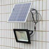 2000 50W proiettori solari solari esterni dell'indicatore luminoso di inondazione di lumen LED