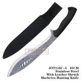 Ножи корабля Непала лезвия тактических ножей ножей звероловства фикчированные 45cm