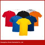 Maglietta superiore 100% del cotone di modo degli uomini (R125)
