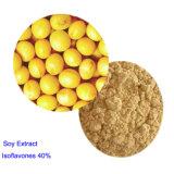 Isoflavone de soja d'extrait de soja de qualité