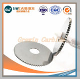 Serras de corte circular de carboneto de tungsténio para máquinas CNC
