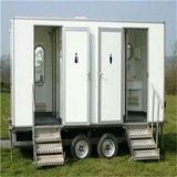 Remolque portátil wc