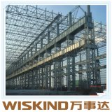 Steel Beam를 가진 조립식 Metal Material Steel Frame Warehouse