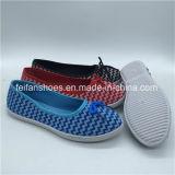 卸し売り女性の平らなズック靴の注入の靴(PY0315-19)