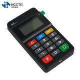 Mpos Terminal de pago móvil NFC Lector de tarjetas magnéticas&IC teclado con lector de tarjetas con chip --Hty711