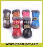 Durable Small Dogs Accessories Doggie Waterproof Coldproof Fart Shoes