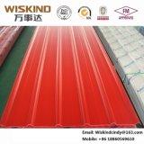 Hoja acanalada del material para techos de la anchura 840 eficaces con todas las clases de tipo