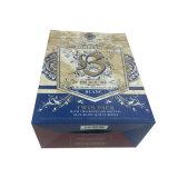 Diseño elegante caja de vino de cartón ondulado para minoristas