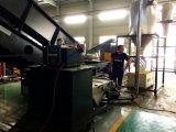 Los gránulos de plástico PE / máquina de hacer los residuos de plástico PP rallar la máquina