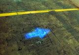 Punto de Luz Azul LED de luz de la flecha de la carretilla elevadora de advertencia en carretera.
