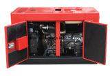 Tipo jogo do dossel de gerador Diesel com motor 15kw trifásico de Yanmar