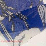 女性の夜会服の衣服のための染められた化学ファイバーポリエステルファブリック