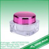 Vaso di plastica e contenitore del polipropilene bianco rotondo dei pp