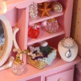 Новые поступления кукла дом DIY миниатюрный мебель с часами