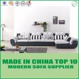 Moderne Möbel L Form-graues Gewebe-Sofa
