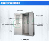 ステンレス鋼の自動空気シャワー(FLB-1A)