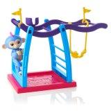 Игрушка спортивная площадка Liv Playset Fingerlings голубая и розовая волос обезьяны штанги обезьяна младенца