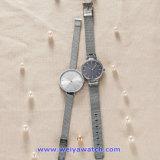 De Polshorloges van de Manier van het Horloge van het Kwarts van het Embleem van de douane voor de Dames van Mensen (wy-17006A)