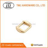 19*20mm em liga de zinco de ouro de travamento do anel retangular
