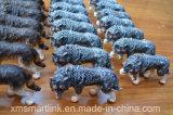 樹脂の置物のオオカミの装飾