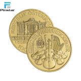 La fabrication de pièces de métal de haute qualité Custom Gold Coin