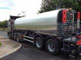 De de verwarmde Vrachtwagen van het Bitumen/Verdeler van het Asfalt voor Verkoop/de Bespuitende Vrachtwagen van het Bitumen