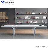 Tavolo di riunione di pietra di marmo artificiale dell'ufficio della Tabella di congresso di Corian