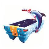 新しく優雅で、美しいイルカの形のホッケーの試合機械