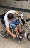 Acoplado caliente del sillón de ruedas de Handcycle Trike del mecanismo impulsor de la energía eléctrica del nuevo producto