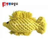 Pescado de calidad superior de la cuerda de algodón de los Molares mascota juguetes para perro