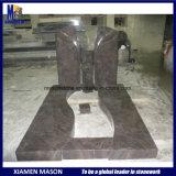 Надгробные плиты гранита Гималаев голубые с Headstones Unquie