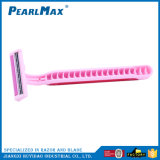 Mulheres Lâmina de barbear rosa, 3 lâmina de barbear
