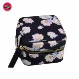 Sacchetto impaccante del sacchetto dei piccoli di modo di fiore del reticolo monili del cuoio (8779)