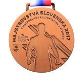 Hotsaleの工場は直接値を付ける金属のマラソンメダル製造業者(mm016)に