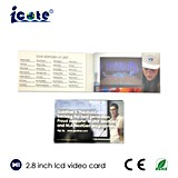 Neuer Entwurf für LCD-Visitenkarte mit Qualität