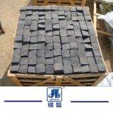 Черный базальтовой асфальтирование камень для сада/Ландшафт/декоративной/подъездная дорожка