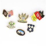 Mayorista de la fábrica de metal personalizados Soft enamel Club Insignia Insignia de solapa, placas de metal personalizados